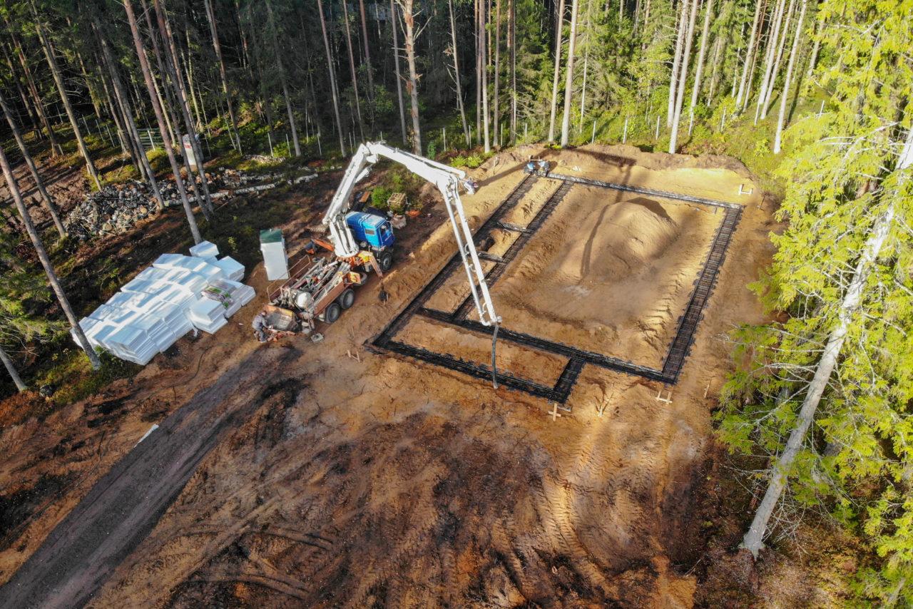 Утепленный Финский Фундамент