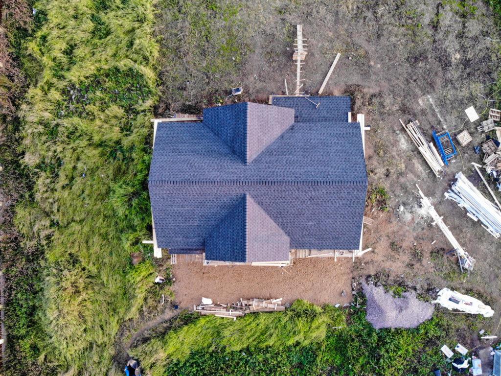 дом из клееного бруса сборка